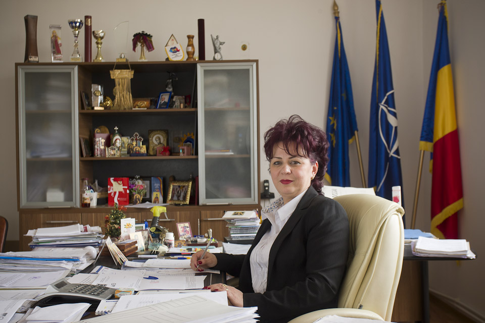 Rosu Nuti, mayor of Progresu and Fácáeni, Romania.